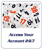 Easy access to your account 24/7