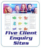 Five client sites bring in enquiries for our members