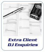 Extra Mobile DJ client enquiries