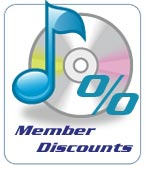 AMPdj members receive discounts too!