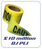 £10 Million Public Liability Insurance for DJs